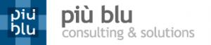 logo piu blu
